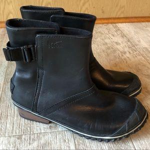 Sorel slim short waterproof boots